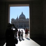 approaching St. Peter's